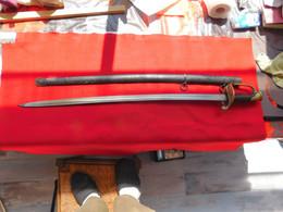 Sabre Mod 1845 /55 Avec Fourreau - Armas Blancas