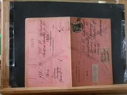 """80/449A  CARTE RECEPISSE  GENT VIGNETTE """"ZAL OP HET KANTOOR KOMEN"""" - 1921-1925 Petit Montenez"""
