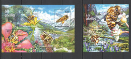 SS930 !!! LAST ONE IN STOCK 2015 NIGER FAUNA INSECTS HONEY BEES LES ABEILLES KB+BL MNH - Abeilles