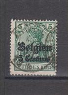 COB 2 Oblitération Centrale LINCENT - Weltkrieg 1914-18