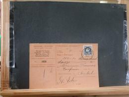 80/450  CARTE RECEPISSE  GENT SCHAERBEEK  1925 - 1921-1925 Petit Montenez