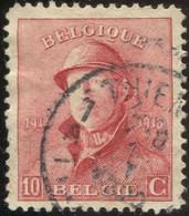 COB  168 (o)  / Yvert Et Tellier N° : 168 (o)  [dentelure : 11¼] - 1919-1920 Albert Met Helm
