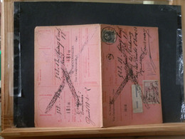 "80/450A  CARTE RECEPISSE  GENT VIGNETTE  ""GEWEIGERD"" - 1921-1925 Petit Montenez"