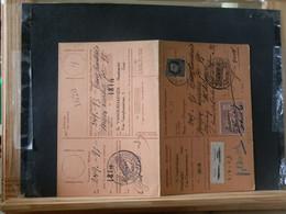 "80/451A  CARTE RECEPISSE  GENT VIGNETTE  ""GEWEIGERD"" - 1921-1925 Petit Montenez"