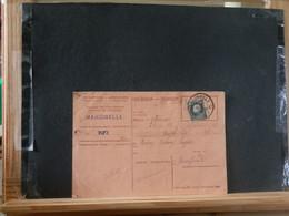 80/452  CARTE RECEPISSE  MARCINELLE - 1921-1925 Petit Montenez