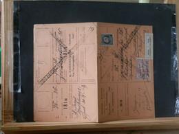 """80/452A  CARTE RECEPISSE  GENT  VIGNETTE """"RETOUR A L'ENVOYEUR"""" - 1921-1925 Petit Montenez"""