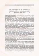 760 Freiherr Von Saar Höhlen Dachstein Obertraun Höhlenkunde Artikel 1914 !! - Other