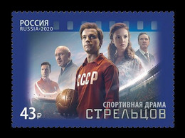 Russia 2020 Mih. 2922 Cinema. Sports Drama Film Streltsov. Football MNH ** - Ongebruikt