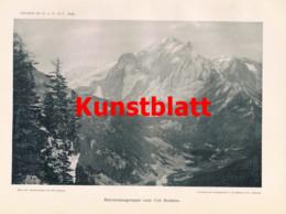 762 Seyffert Marmolata Dolomiten Trentino Südtirol Italien Artikel 1898 !! - Revistas & Periódicos