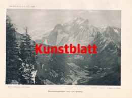 762 Seyffert Marmolata Dolomiten Trentino Südtirol Italien Artikel 1898 !! - Non Classificati
