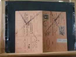 """80/454  CARTE RECEPISSE GENT VIGNETTE """"ABSENT"""" - 1921-1925 Petit Montenez"""