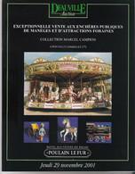 FETES FORAINES. Catalogue Vente Aux Enchères  De Manèges Et Attractions Foraines Coll. Marcel Campion - Collectors