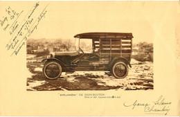 """DE DION BOUTON - """"BOULANGERE"""" Type 10 HP - Garage Salamo Chambery /GP80 - Publicités"""