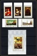 471a Ajman MNH ** N° 419 / 423 A + Bloc 112 A Tableau (tableaux Painting) Italian Paintings Venise (venice) - Ajman
