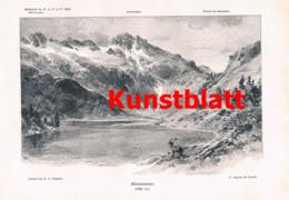 764 Kordon Compton Hafnergruppe Tauern Kärnten Artikel 1898 !! - Revistas & Periódicos