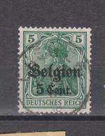 COB 12 Oblitération Centrale CHENEE - Weltkrieg 1914-18