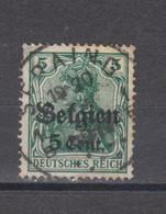 COB 12 Oblitération Centrale SERAING - Weltkrieg 1914-18