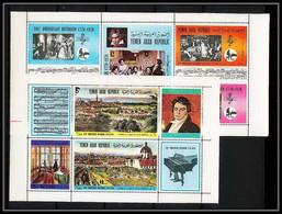 672 - YAR (nord Yemen) MNH ** N° 1406 / 1417 A Musique (music) Ludwig Van Beethoven - Muziek