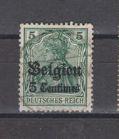 COB 2 Oblitération Centrale MECHELEN - Weltkrieg 1914-18