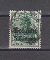 COB 2 Oblitération Centrale Relais Sterstempel ITEGHEM - Weltkrieg 1914-18