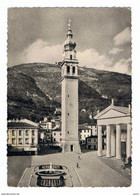 VALDOBBIADENE:  PIAZZA  MARCONI  -  LEGGERO  INGIALLIMENTO  RETRO  -  FOTO  -  FG - Treviso