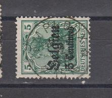 COB 2 Oblitération Centrale Relais Sterstempel TEMPLOUX - Weltkrieg 1914-18