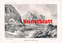 766 Geyer Karnische Alpen Sexten Tirol Kärnten Friaul Osttirol Artikel 1898 !! - Revistas & Periódicos