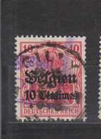 COB 3 Oblitération Centrale GILLY - Weltkrieg 1914-18