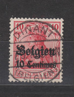 COB 3 Oblitération Centrale DINANT - Weltkrieg 1914-18