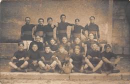 EQUIPE DE FOOTBALL -CARTE PHOTO  A SITUER - Calcio