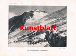 770 Löwl Grossglockner Hohe Tauern Kals Heiligenblut Artikel Von 1898 !! - Revistas & Periódicos
