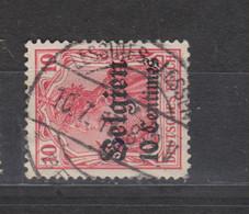 COB 3 Oblitération Centrale LESSINES - Weltkrieg 1914-18