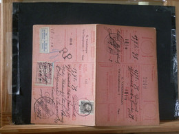 "80/457  CARTE RECEPISSE GENT VIGNETTE ""SE PRESENTERA AU BUREAU"" - 1921-1925 Petit Montenez"