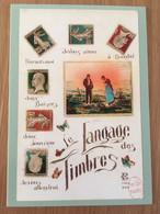 Carte Postale Prétimbrée 2020 Langage Des Timbres - Cartoline Maximum