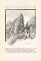 771 Hess Compton Steiner Alpen Grintovec Skuta Slowenien Slovenia Artikel Von 1896 !! - Revistas & Periódicos