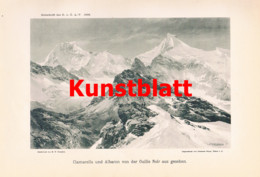 772 Blodig Compton Maurienne Tarentaise Bergsteigen 2 Artikel 1895/1900 !! - Revistas & Periódicos