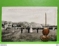 "Fullen Des Ballons ""Le Rêve"" An Der Neuen Gasanstalt In Remich Am 23.juni 1907. N. SCHUMACHER - Altri"
