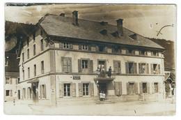 Carte Photo à Confirmer : Buttes, Poste Et Télégraphe - NE Neuchâtel