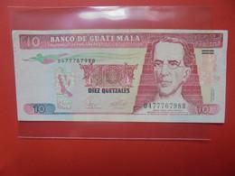 GUATEMALA 10 QUETZALES 2007 Circuler (B.20) - Guatemala