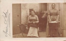 FEMMES DE MENAGE-CARTE PHOTO A SITUER - Mestieri