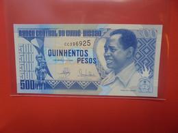 GUINEA-BISSAU 500 PESOS 1990 Circuler (B.20) - Guinee-Bissau