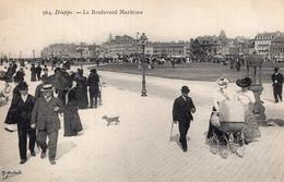 B71070 Cpa Dieppe -  Le Boulevard Maritime - Dieppe