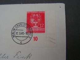 Berlin Cv. Eckrand 1941 - Allemagne