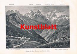 777 Steinitzer Karnische Voralpen Venetien Friaul Slowenien Artikel Mit Bildern 1900 !! - Revistas & Periódicos