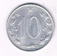 10 HALLER  1956  TSJECHOSLOWAKIJE /7584/ - Tsjechoslowakije