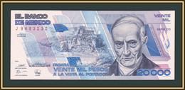 Mexico 20000 Pesos 1989 P-92 (92b.4) UNC - Mexiko