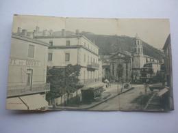 81 MAZAMET CARTE 3 VOLETS PLACE DE L' EGLISE - Mazamet