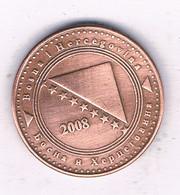 10 FENINGA  2008 BOSNIE EN HERZOGOVINA /7595/ - Bosnia And Herzegovina