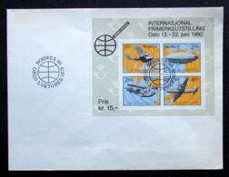Norway 1979     MiNr.799-802   BLOCK 2   FDC     (lot 4507) - FDC