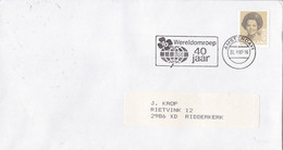 Nederland - Vlagstempel - Wereldomroep 40 Jaar - NVPH 1237 - Postal History
